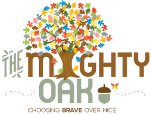 Logo for The Mighty Oak Program
